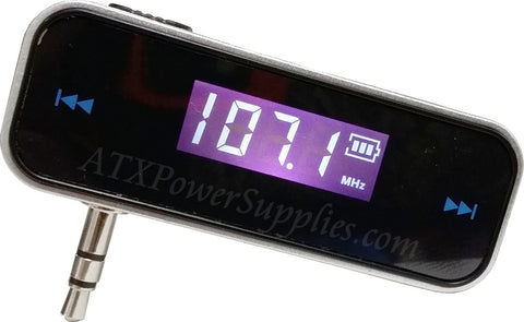 FM Transmitter for Android and IPhone 4/5/6/6+