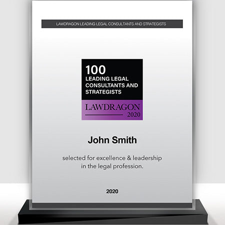 2020 Legal Consultant and Strategist Recognition Marquee