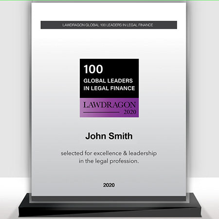 2020 Global Legal Finance Recognition Marquee