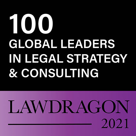 2021 Global Leaders in Legal Consulting & Strategy Badge