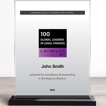 2021 Global Leaders in Legal Finance Recognition Marquee
