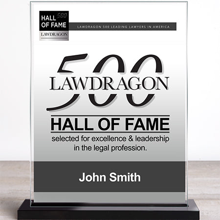 Hall of Fame Recognition Marquee