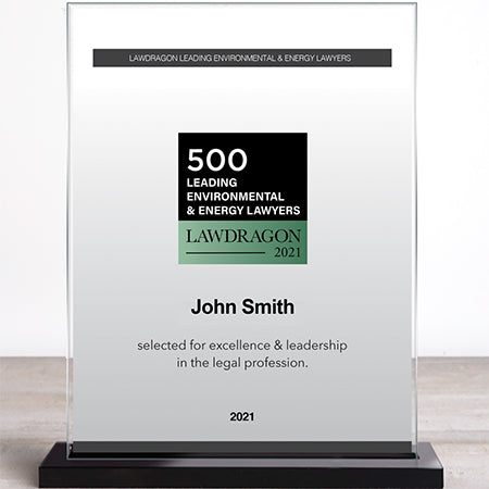 2021 Lawdragon 500 Leading Environmental & Energy Lawyers Marquee