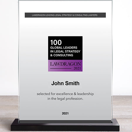 2021 Leaders in Legal Strategy & Consulting Recognition Marquee