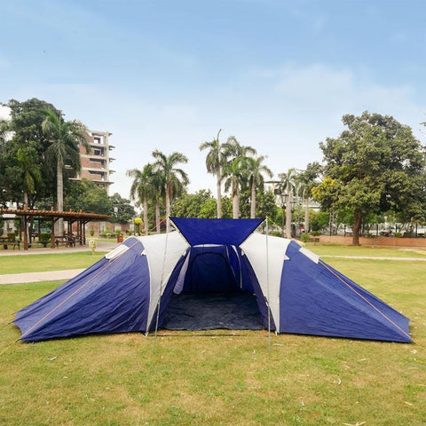 12 Person Camping Tent – ( with 3 Partition )
