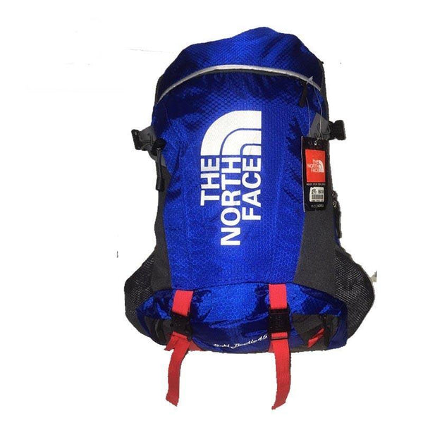 35-Liter North Face Backpack - Blue