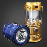 Portable Solar Charger Camping Lantern Lamp Outdoor