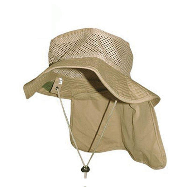 BCB Round Hat with Neck Flap