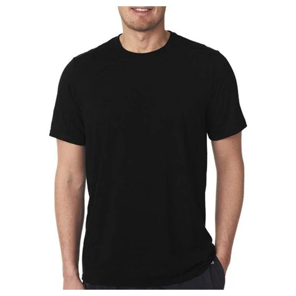 Cotton T-Shirt for Men - Black