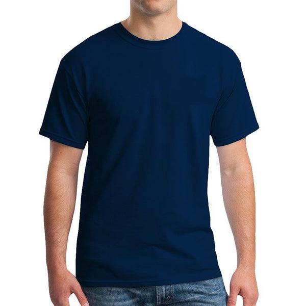Export Quality Cotton T-Shirt - Blue