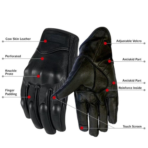 Imported Leather Gloves for Men