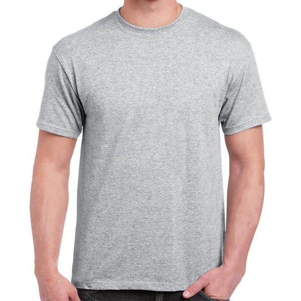 Cotton T-Shirt for Men - Gray