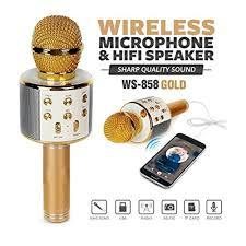 Wireless Karaoke Bluetooth Microphone - Online Dukandari