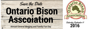 Ontario Bison Association - Annual Meeting at Big Rock Bison - Healthy Bison Meat Snack Sticks - BUFF