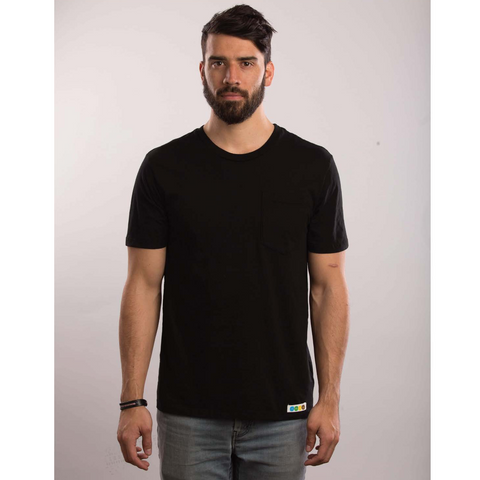 CicLAvia Pocket Tee - Black