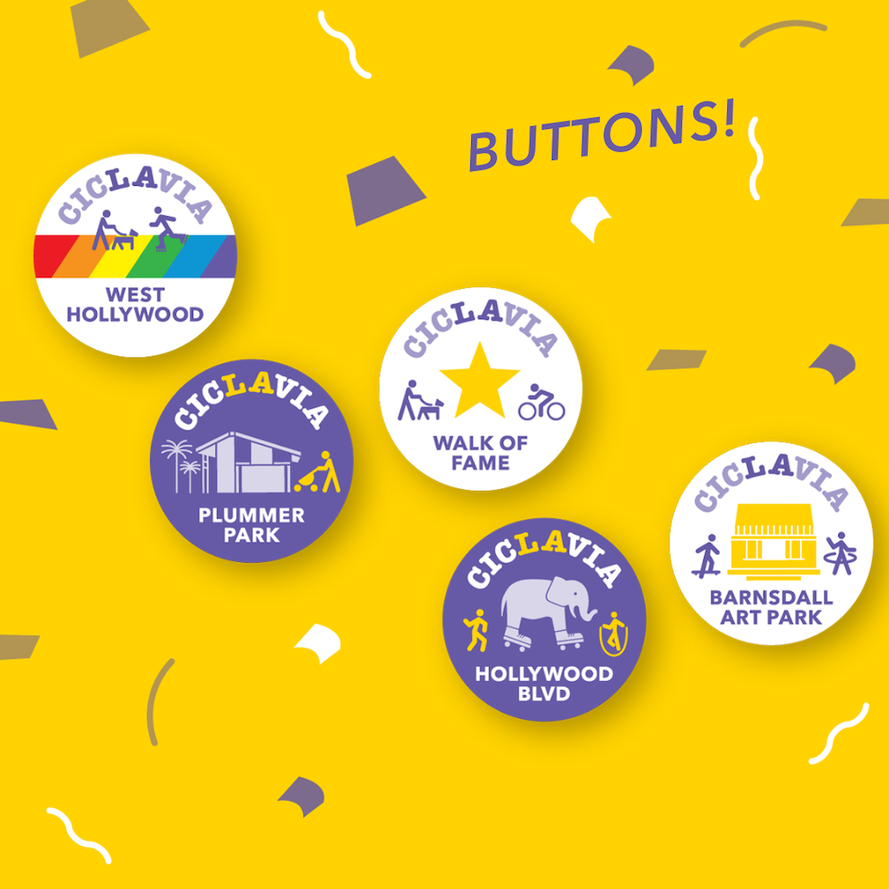 Meet the Hollywoods Button Pack