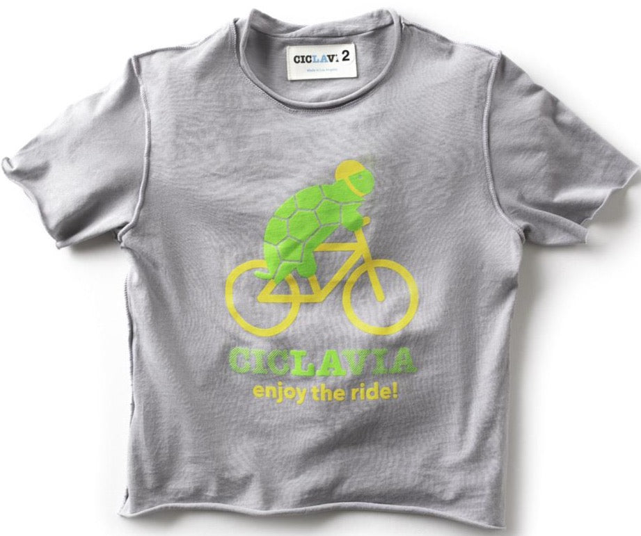 CicLAvia Kids Tee - Enjoy the ride!