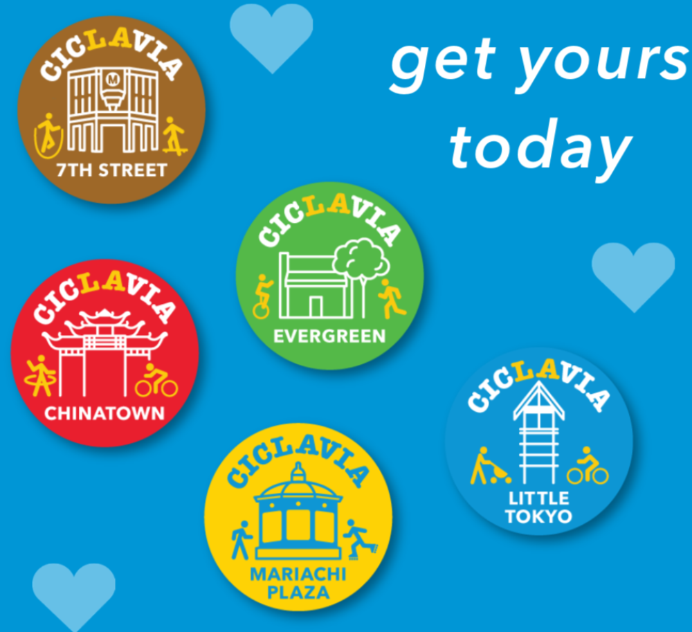 Heart of Los Angeles 2018 Button Pack