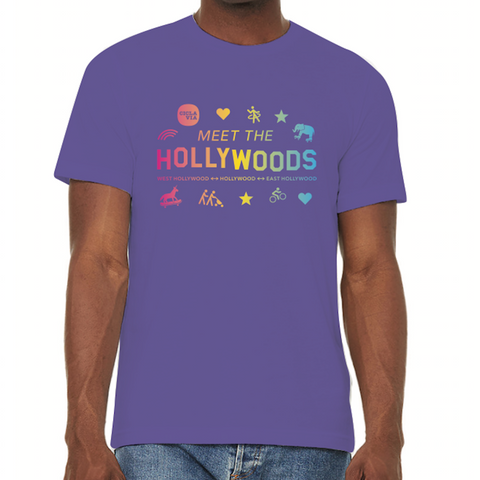 CicLAvia 2019 Meet the Hollywoods T-Shirt