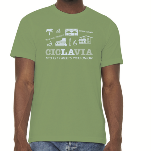 CicLAvia Mid City Meets Pico Union T-Shirt