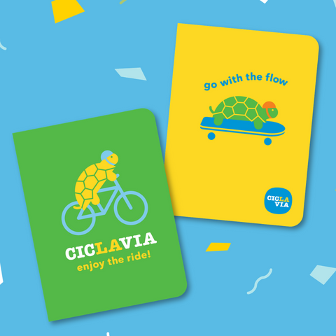 CicLAvia Turtle Journals