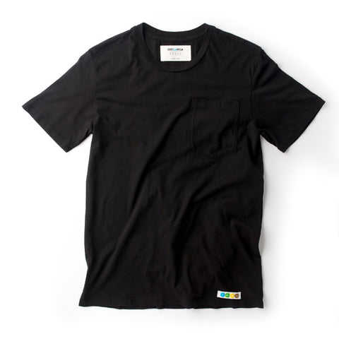 CicLAvia Pocket T-Shirt - Black