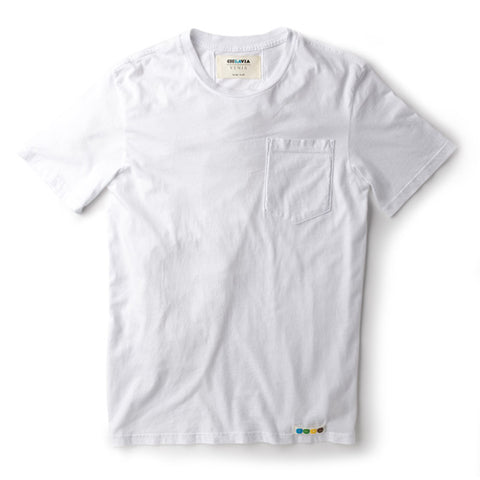 CicLAvia Pocket T-Shirt - White