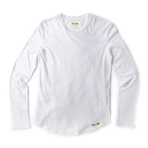 Long Sleeve LA Tee - White