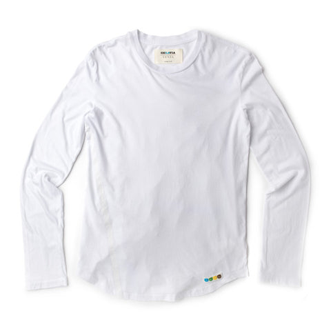 CicLAvia Long Sleeve LA Tee - White