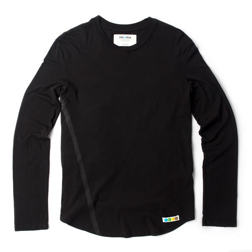 Long Sleeve LA Tee - Black