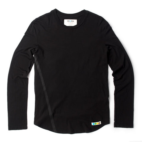 CicLAvia Long Sleeve LA Tee - Black