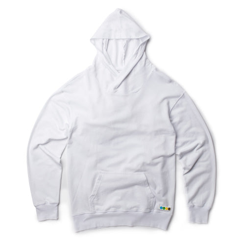 Front Pocket Hoodie - White