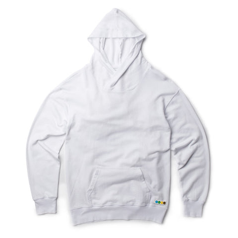 CicLAvia Front Pocket Hoodie - White