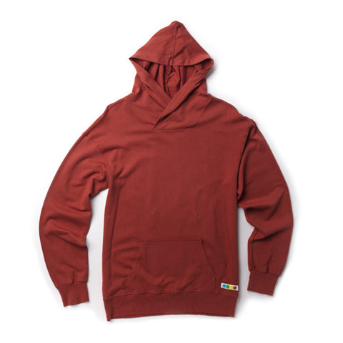 CicLAvia Front Pocket Hoodie - Rust