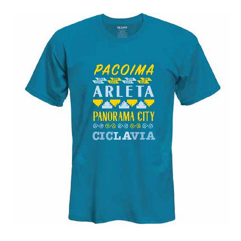 CicLAvia The Valley T-Shirt: Pacoima, Arleta & Panorama City