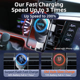 Car Phone Holder wireless charger