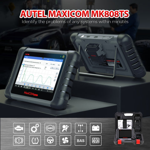 Autel MaxiCOM MK808TS OBD2 Bluetooth Diagnostic Scan Tool