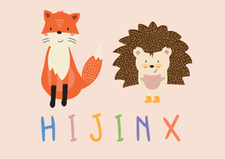 Hijinx Fox & Hedgehog Logo