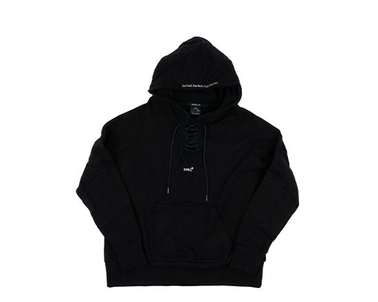 "D/HILL ""SHOE NECK"" Pull-Over Hoodie"
