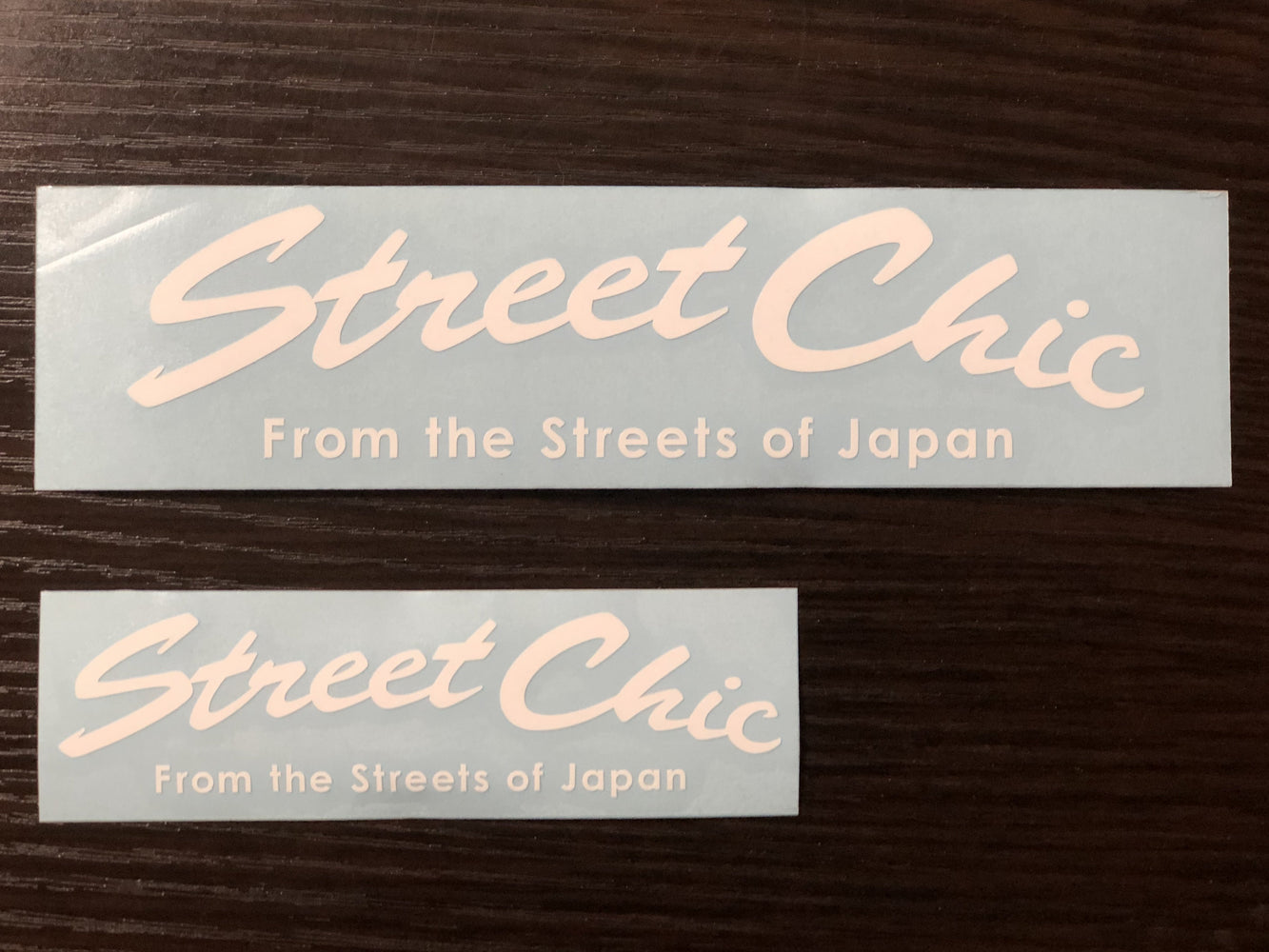 Decal Curve / Second - StreetChic