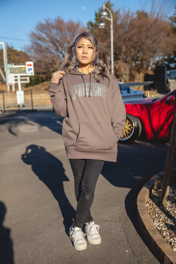 Impress Hoodie CHARCOAL - StreetChic