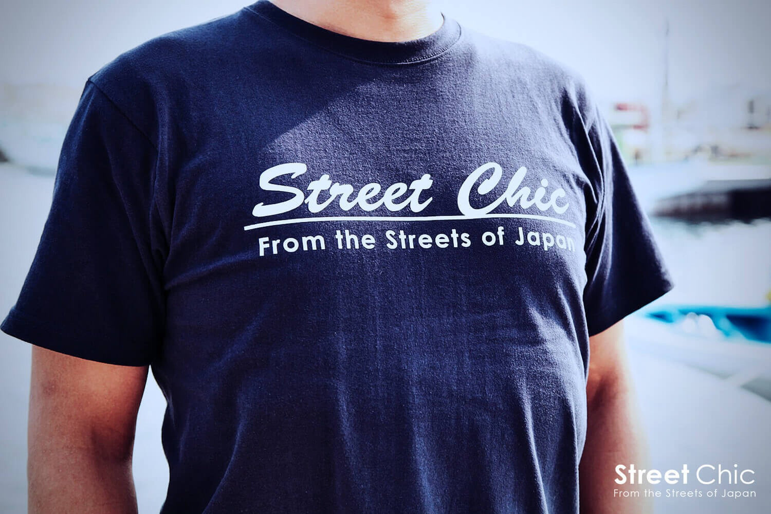 Crew T-shirt NAVY - StreetChic