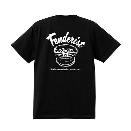 Impress T-shirt Black - Fenderist - ARMLOCKERS SHOP