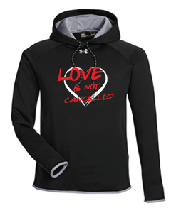 Under Armor Love Is Not Cancelled Hoodie