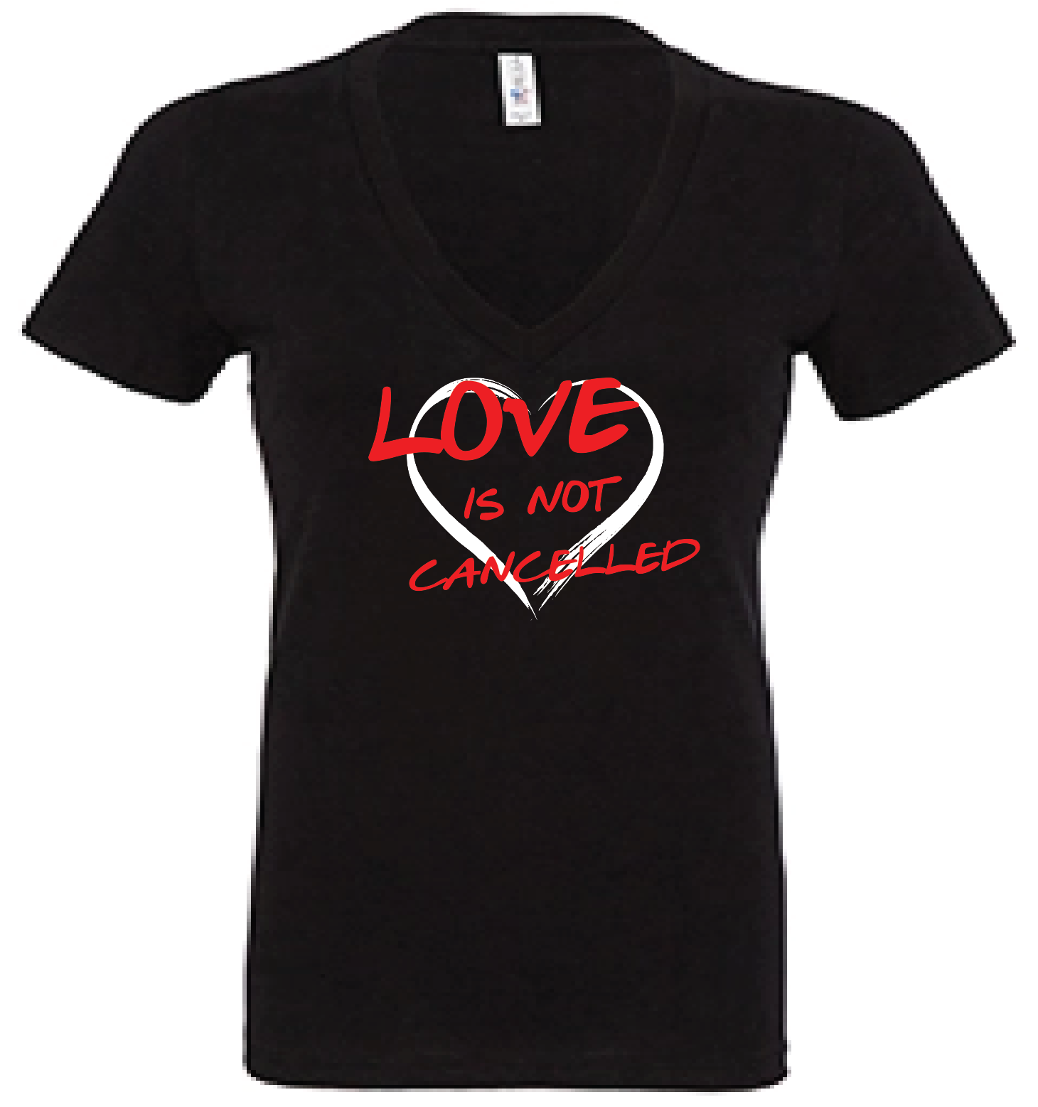 Love is not cancelled tee