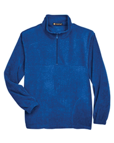 Harriton Adult 8 oz. Quarter-Zip Fleece Pullover (Clearance)