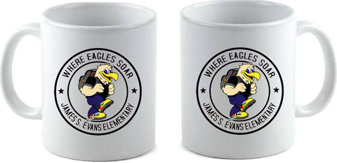 Evans Large 15 oz. Ceramic Coffee Mug