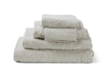 Serviette de bain White Smoke, moderne, en coton de la collection COMO