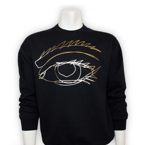 Eye On You Sweater in Black