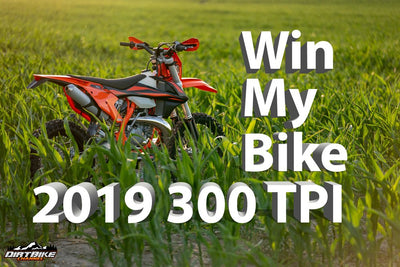 Win My Dirt Bike Is Back!  2019 KTM 300 XC-W TPI